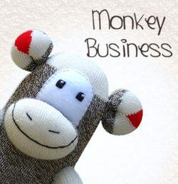 Sock monkey business